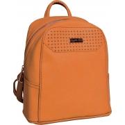 Сумка-рюкзак, оранжевая, 22*11*24см