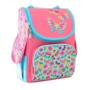 Рюкзак школьный каркасный Smart PG-11 Butterfly pink, 34*26*14