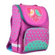 Рюкзак школьный каркасный Smart PG-11 Birdies, 34*26*14
