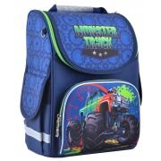 Рюкзак школьный каркасный Smart PG-11 Monster truck, 34*26*14