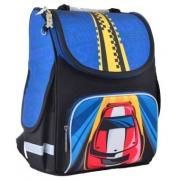 Рюкзак школьный каркасный Smart PG-11 Car, 34*26*14
