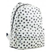 Рюкзак молодежный  YES ST-28 Black dots, 34*24*13.5