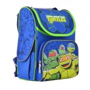 Рюкзак школьный каркасный 1 Вересня H-11 Turtles, 33.5*26*13.5