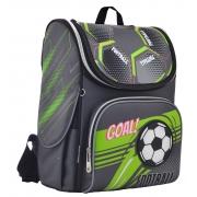 Рюкзак школьный каркасный  YES  H-11 Football, 33.5*26*13.5