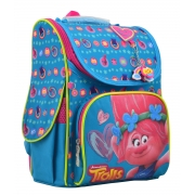 Рюкзак школьный каркасный 1 Вересня H-11 Trolls turquoise, 33.5*26*13.5