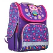 Рюкзак школьный каркасный  YES  H-11 Owl, 33.5*26*13.5