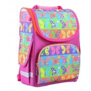 Рюкзак школьный каркасный Smart PG-11 Butterfly, 34*26*14