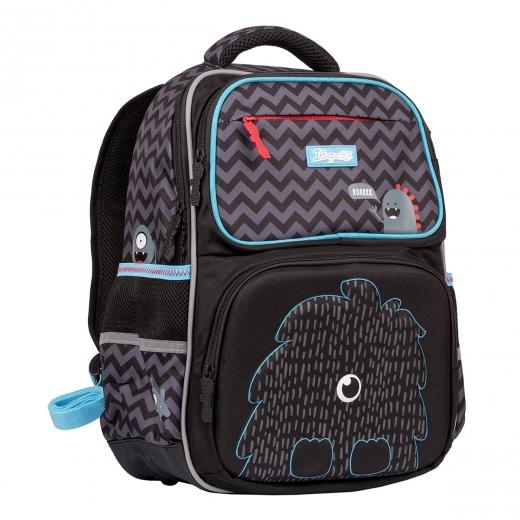 """Рюкзак школьный 1Вересня S-105 """"Monster"""", черный"""
