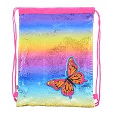 Сумка-мешок YES  DB-11 Butterfly, 45*35