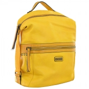 Рюкзак молодёжный YW-20, 26*35*13.5, желтый