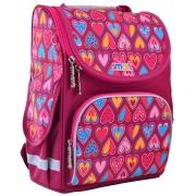 "Рюкзак школьный каркасный Smart PG-11 ""Hearts Style"""