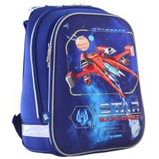 """Рюкзак 1Вересня школьный каркасный H-12 """"Star Explorer"""""""