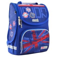 """Рюкзак школьный каркасный Smart PG-11 """"London"""""""