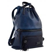 Рюкзак женский YES YW-11, джинсовый синий