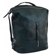 Рюкзак женский YES YW-17,  зеленый
