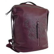 Рюкзак женский YES YW-17,  красный