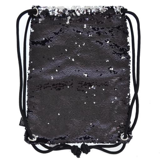 """Сумка-мешок YES   """"Black Sequins """""""