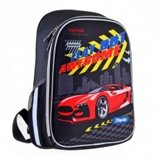 """Рюкзак 1Вересня школьный каркасный H-27 """"Racing"""""""