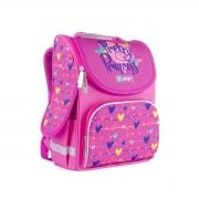 Рюкзак школьный каркасный SMART PG-11 Pretty Princess