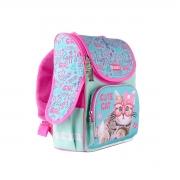 Рюкзак школьный каркасный SMART PG-11 Cute Cat