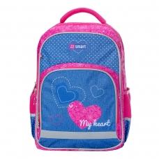 Рюкзак школьный SMART SM-04 My heart