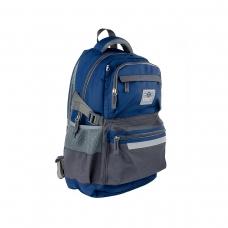 Рюкзак молодежный SMART TN-05 Rider, сер/син
