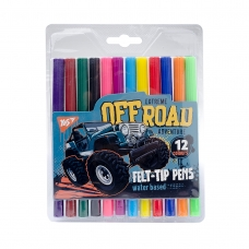 "Фломастеры YES 12 цветов ""Of Road"""