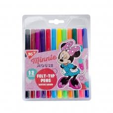 """Фломастеры YES 12 цветов """"Minnie Mouse"""""""