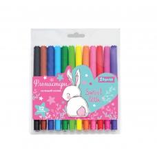 """Фломастеры 1 Вересня 12 цветов """"Bunny"""""""