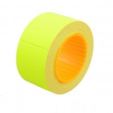 Ценник Datum флюо TCBIL3040 8,00м, прям.200шт/рол (желт.)