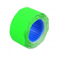 Ценник Datum флюо TCBL2616X 5,60м, овал 350шт/рол (зел.)
