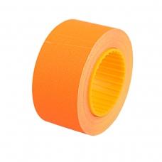 Ценник Datum флюо TCBIL3050 10,00м, прям.200шт/рол (оранж.)