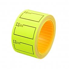 Ценник Datum флюо TCBIL3020 4,00м, прям.200шт/рол с/н (желт.)