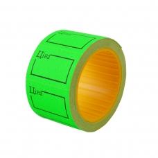 Ценник Datum флюо TCBIL3020 4,00м, прям.200шт/рол с/н (зел.)