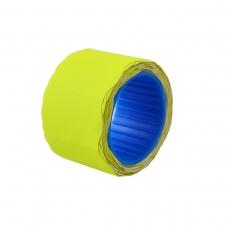 Ценник флюо TCBL2616X 2,56м, овал 160шт/рол (желт.)