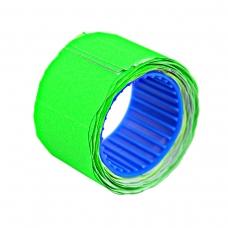 Ценник Datum флюо TCBL2616X 2,56м, овал 160шт/рол (зел.)