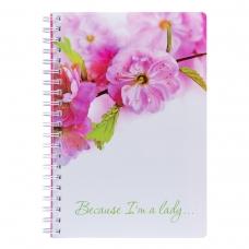 Тетрадь для записей А4/120 пл.обл. Sakura YES