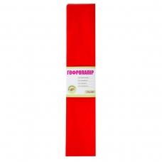 Бумага гофрированная 1Вересня темно-красная 55% (50см*200см)