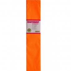 Бумага гофр. 1Вересня флуоресц. оранжевая 20% (50см*200см)