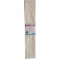 Бумага гофрированная 1Вересня перламутровая белая 20% (50см*200см)