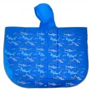 Дождевик-пончо YES со светоотражающим кантом «Акулы»