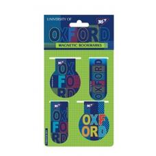 "Закладки магнитные YES ""Oxford"", 4шт, Украина"