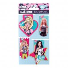 Закладки магнитные YES «Barbie», высечка, 4шт