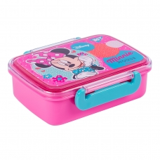 "Контейнер для еды YES ""Minnie Mouse"", 420мл, с разделителем"