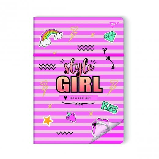 "Обложка для тетради 764429  ""STYLE GIRL 2"" YES"