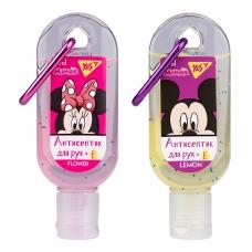 "Гель антисептический YES для рук с карабином ""Mickey&Minnie"", 30 мл."