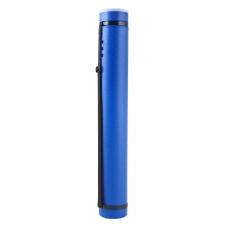 """Тубус """"Santi"""" раздвижной, диаметр 8,5 см, длина 65-110 см. цвет синий"""