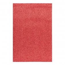 Фоамиран ЭВА красный с глиттером, 200*300 мм, толщина 1,7 мм, 10 листов