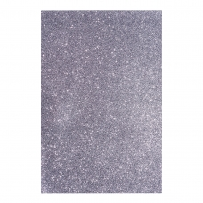 Фоамиран ЭВА темный серебряный с глиттером, 200*300 мм, толщина 1,7 мм, 10 листов