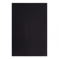 Фоамиран ЭВА черный, 200*300 мм, толщина 1,7 мм, 10 листов